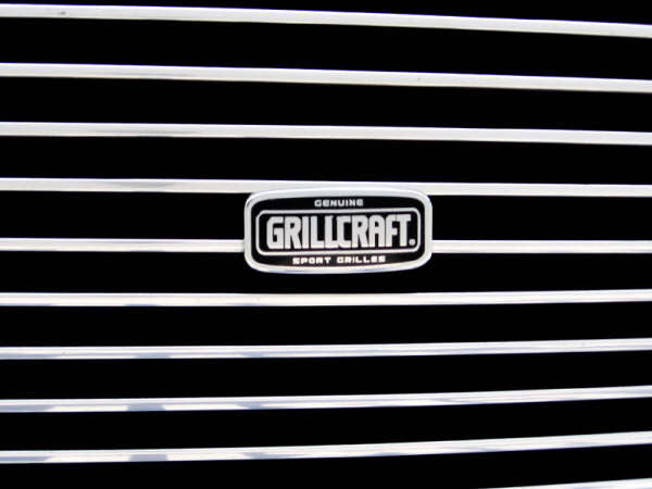 2007 2008 2009 2010 2011 2012 2013 2014  FJ Cruiser Billet Grille Grill with Emblem Cutout by GrillCraft TOY1980BAO & TOY1981BAO