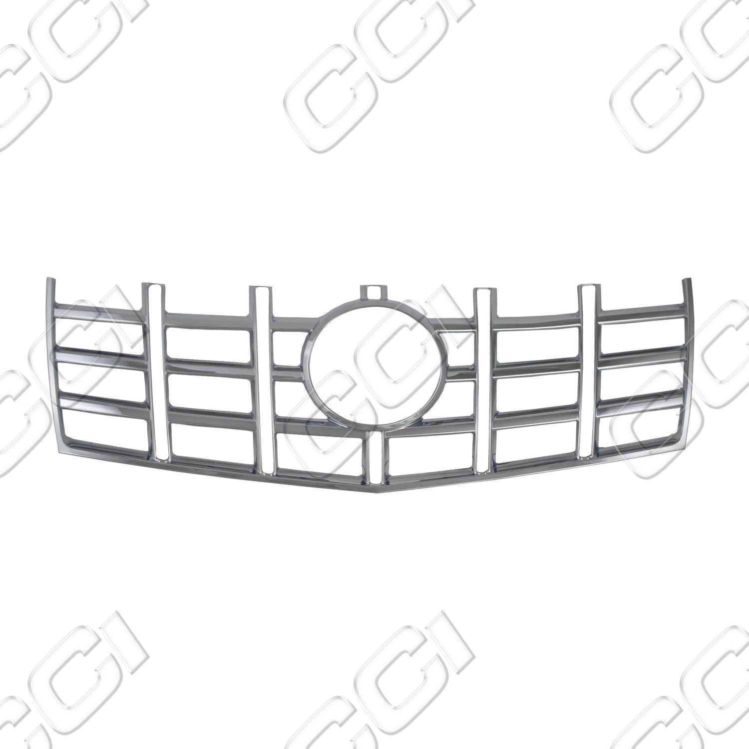 IWCGI-111 Cadillac CTS 2012-13 Sedan | 2012 2013 2014 Coupe ABS Chrome Snap-On Grille Grill Overlay by CCI