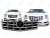 2012 2013 CTS Sedan | 2012 2013 2014 Coupe ABS Chrome Snap-On Grille Grill Overlay by CCI IWCGI-111
