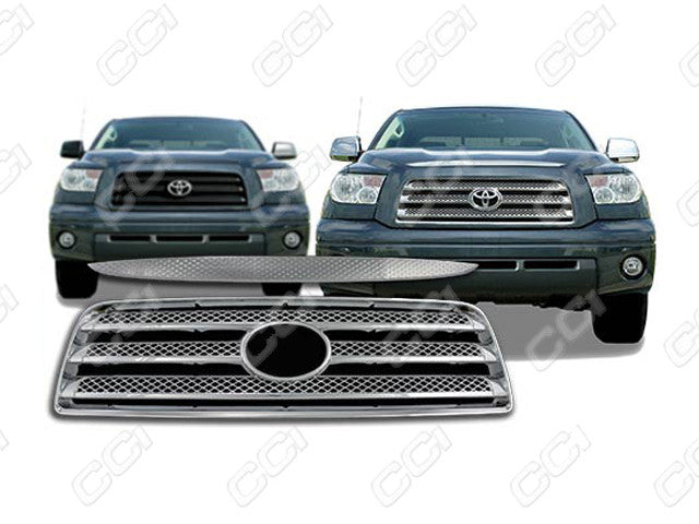 2007 2008 2009 Tundra Grille Grill Chrome Overlay by CCI