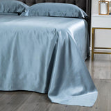 Natural Premium Mulberry Silk Bed Sheets for Skin and Hair Care Multicolor
