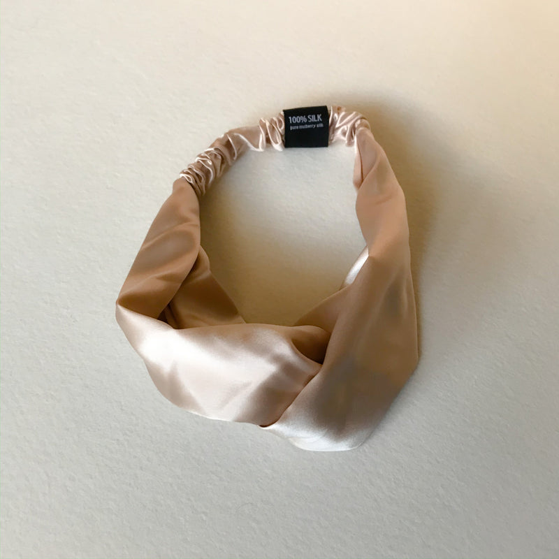 22 momme Mulberry Silk Head Band, Wedding Gift