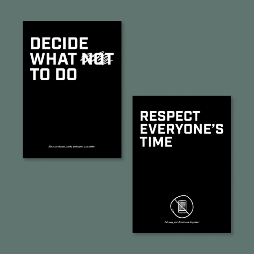 Meeting Mantras Posters
