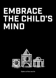 Meeting Mantra Poster: Embrace The Child's Mind