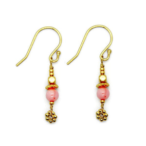 Sshades of  Pink- Short Dazling Earrings