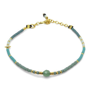 Shades of Mint - Thin Bracelet