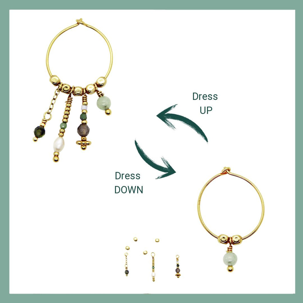 Dress UP - Dress DOWN Hoops