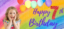 Load image into Gallery viewer, Custom Birthday BANNERS