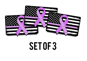 Breast Cancer Awareness - 3 stickers