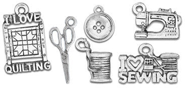 Quilting & Sewing Charms