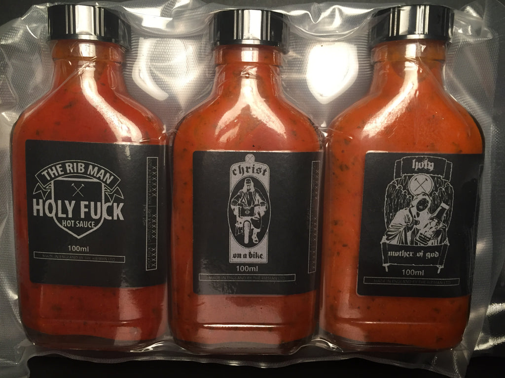 Holy Trinity Hot Sauces Travel Pack