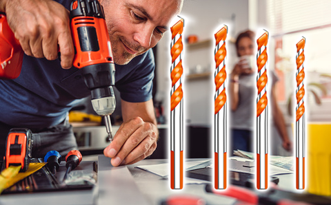 Ideal for everyday drilling on multiple materials - Ultimate Drill Bit