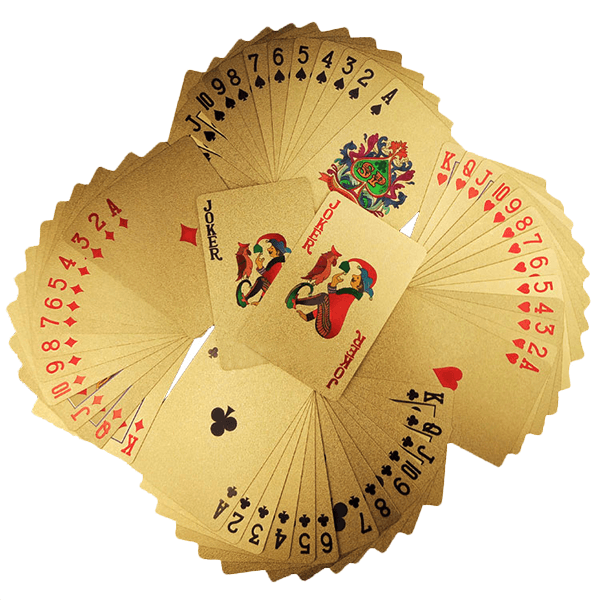 Limited Edition-Luxury 24K Gold Foil Poker Playing Cards