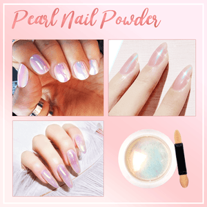 Bubble Metallic Nail Powder