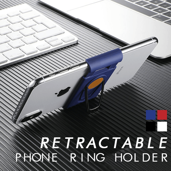 Magnetic Retractable Phone Holder