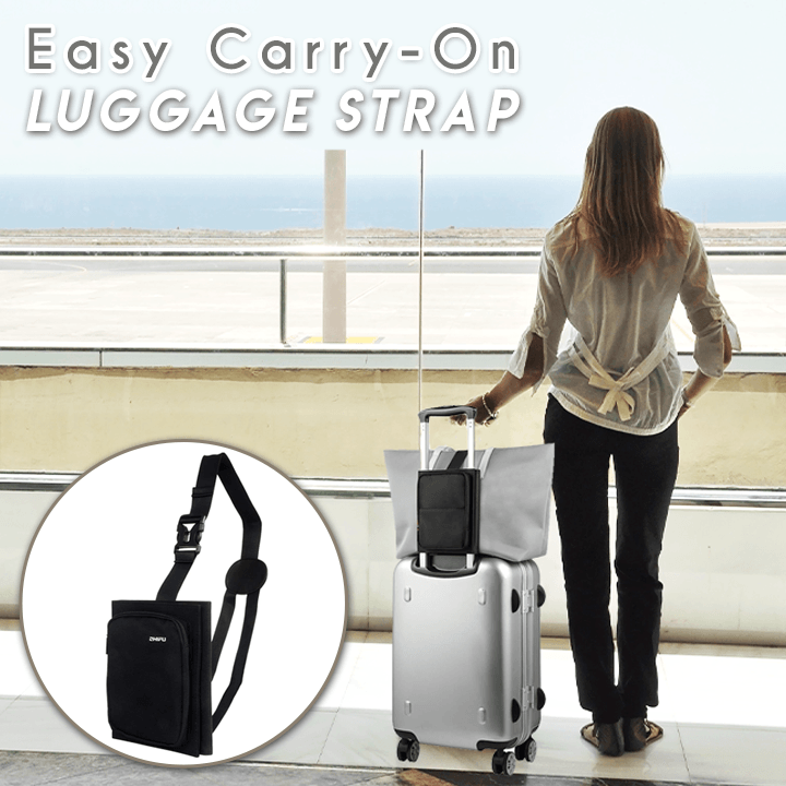 Easy Carry-On Luggage Strap