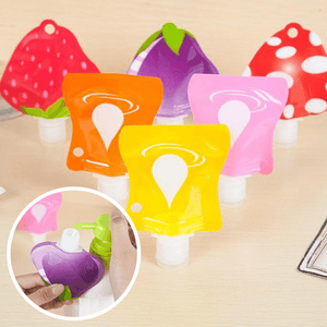 Reusable Travel Lotion Container Set (6PCS)
