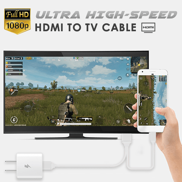 Ultra High-Speed HDMI to TV Cable