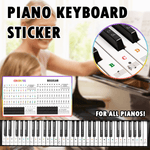 Piano Keyboard Sticker