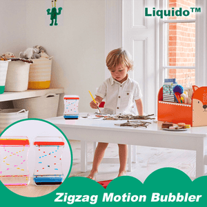 Liquido™ Zigzag Motion Bubbler
