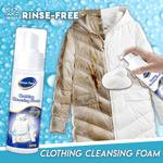 Rinse-Free Clothing Cleansing Foam