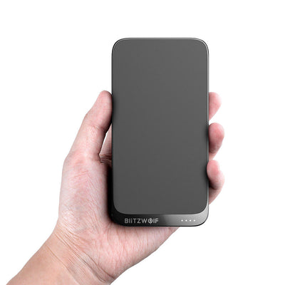 BlitzWolf iphone Power Bank 10000mAh 18W With 10W Wireless Charger