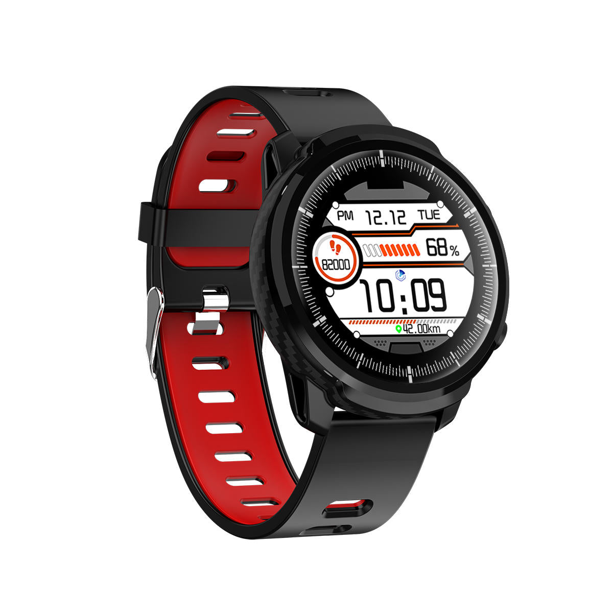 Best Blood Pressure Watch, Heart Rate and Blood Pressure Watch, Oxygen Monitor Watch, Weather Display Full Touch HD Screen IP67 Waterproof Smart Watch