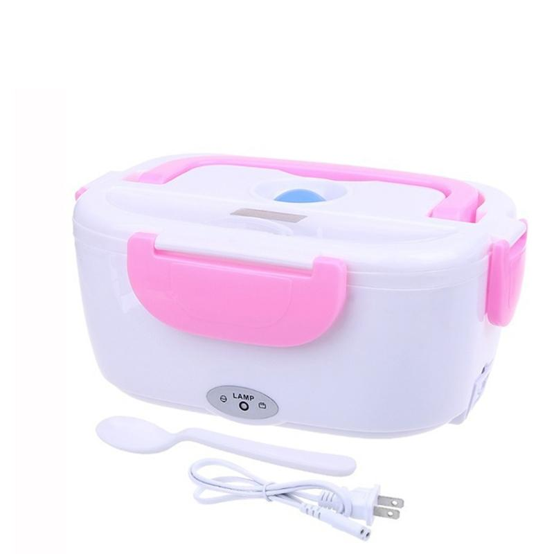 Electric Lunch Box 1.5L Car Plug-in Heated Lunch Box Insulated Lunch Box Warmer for Work, Travel and Camping