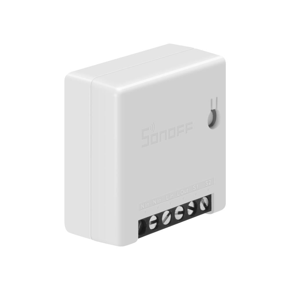 Best Smart Light Switch Mini Wifi Smart Switch Small and Compact DIY Smart Switch. Automate Your Home Lights and Appliances Through Your Smartphone