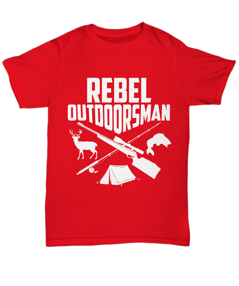Rebel Outdoorsman Shirt, Hoodie and Sweatshirt