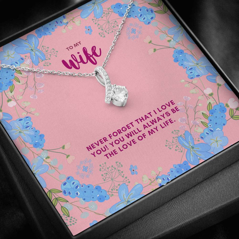 To My Wife Alluring Beauty Necklace