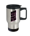 Mom Wife Nurse Hero Travel Mug