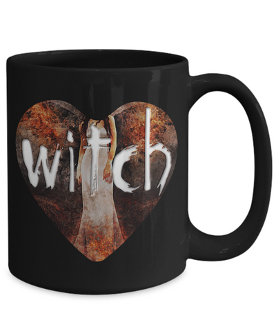 Witch Coffee Mugs - 11oz Coffee Mug - Witch - Funny Ceramic Tea Cup For Women