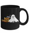 Boo Coffee Mug - 11oz Coffee Mug - I Call BOO Sheet - Funny Ceramic Tea Cup For Men Women