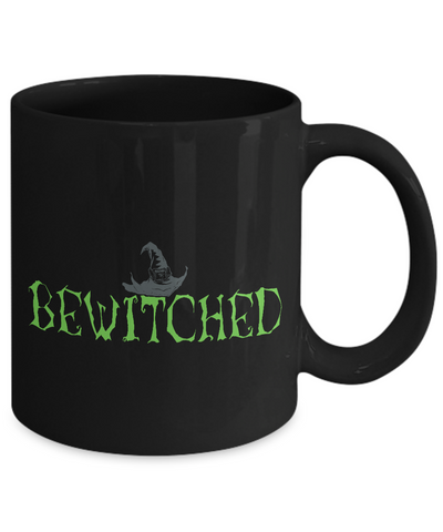 Witch Mug - 11oz Coffee Mug - Bewitched - Funny Ceramic Tea Cup For Men Women