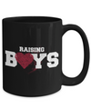 Raising Boys Coffee Mug