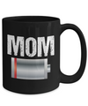 Mom Lowbatt Coffee Mug