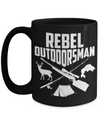 Rebel Outdoorsman Coffe Mug