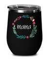 Mama Wine Glass