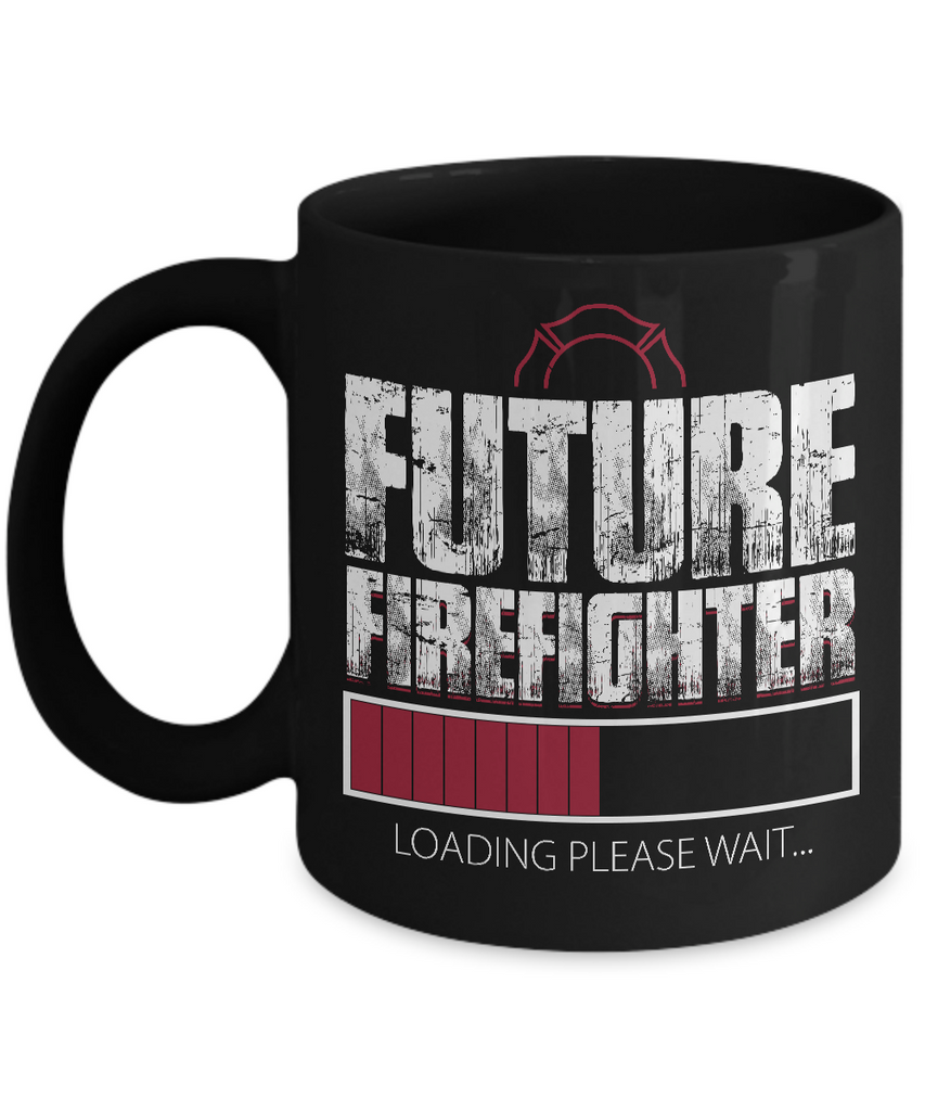 Future Firefighter Loading Please Wait... Coffee Mug