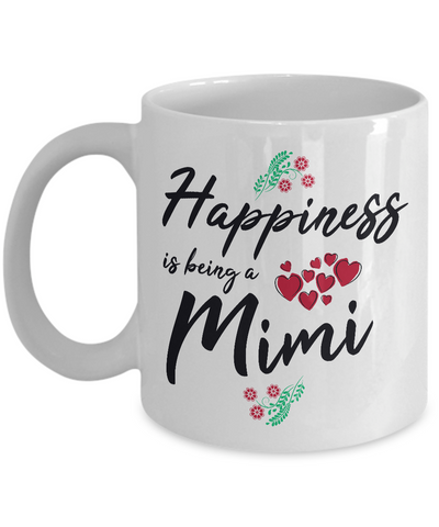 Happiness Is Being A Mimi Coffee Mug