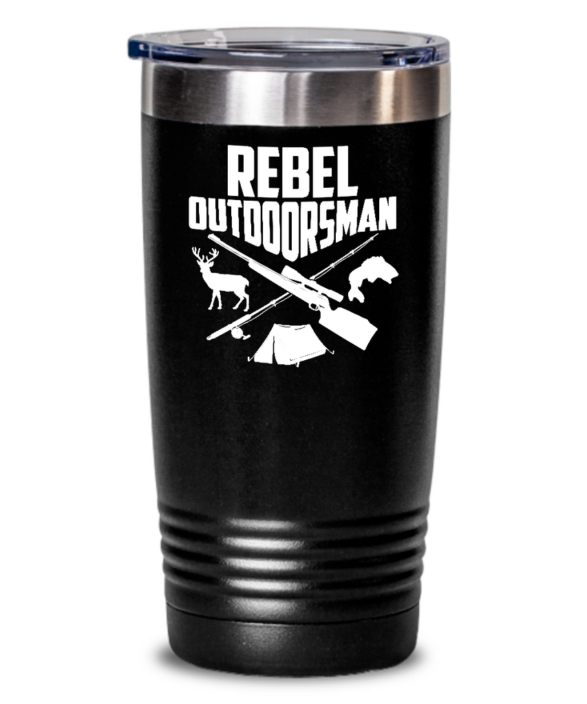Rebel Outdoorsman Tumbler