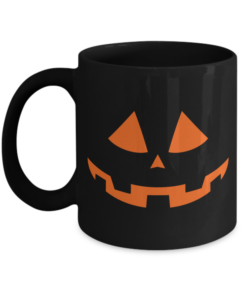 Halloween Coffee Mug - 11oz Coffee Mug - Pumpkin - Funny Ceramic Tea Cup For Men Women