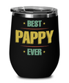 Best Pappy Ever Wine Glass