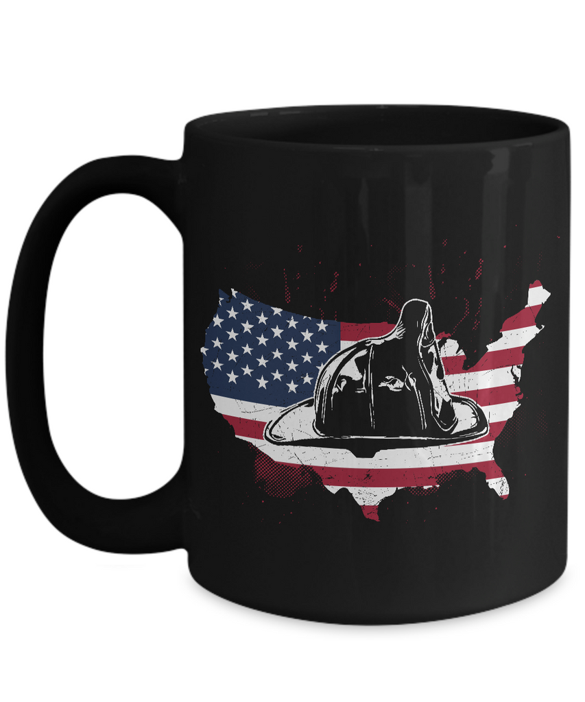 Firefighter Hat Coffee Mug