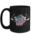 Fire Department Flag Coffee Mug