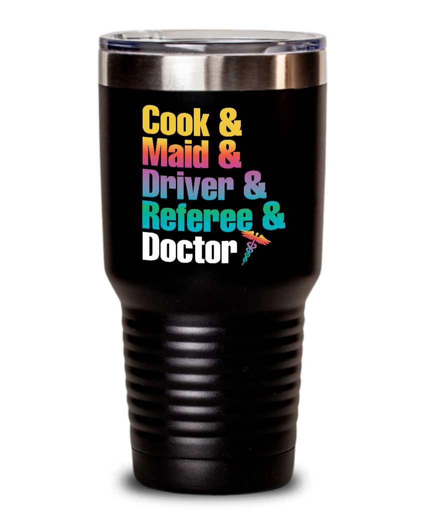 Cook & Maid & Driver & Referee & Doctor Tumbler