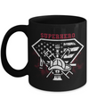 Firefighter Superhero Coffee Mug