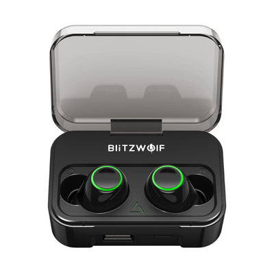 Best True Wireless Earbuds Bluetooth Earphones 5.0 Earphone Hi-Fi Stero Sound Bilateral Calls 2600mAh Power Bank IPX6 Waterproof Sweatproof