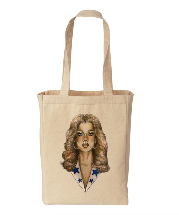 Gigi tote - regular price $24/now $19.20